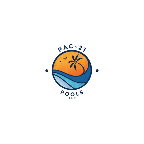 """Smooth logo with a """"beach vibe"""""""