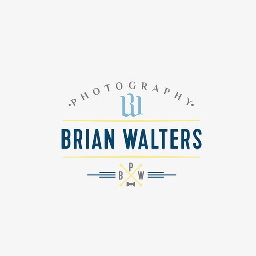 Logo concept for photographer