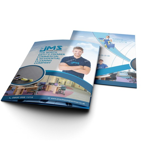 Brochure for JMS Cleaning Services