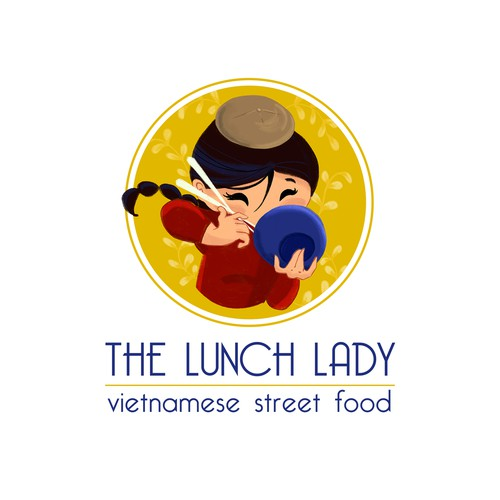 Logo design for The Lunch Lady