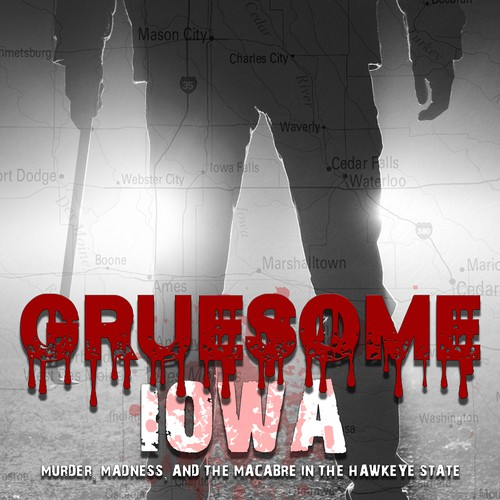 Cover for ebook tales of murder and mistery in the Hawkeye State
