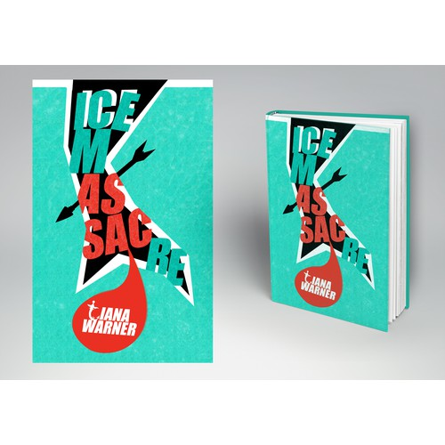 Book cover for ICE MASSACRE, a YA fantasy about flesh-eating mermaids