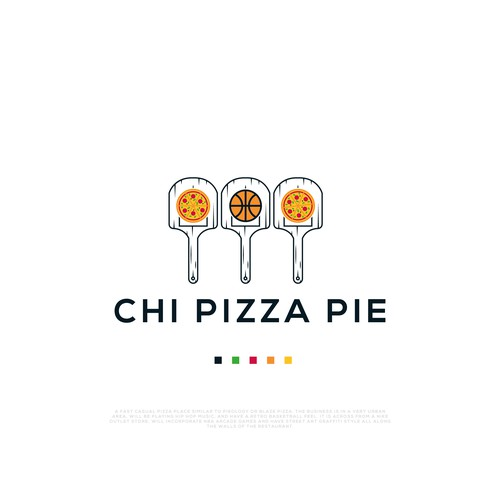 Logo for Chi Pizza Pie fast casual pizza restaurant