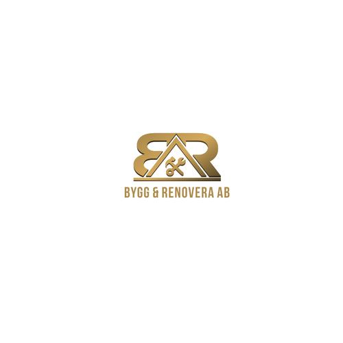 Logo design for Bygg & Renovera AB