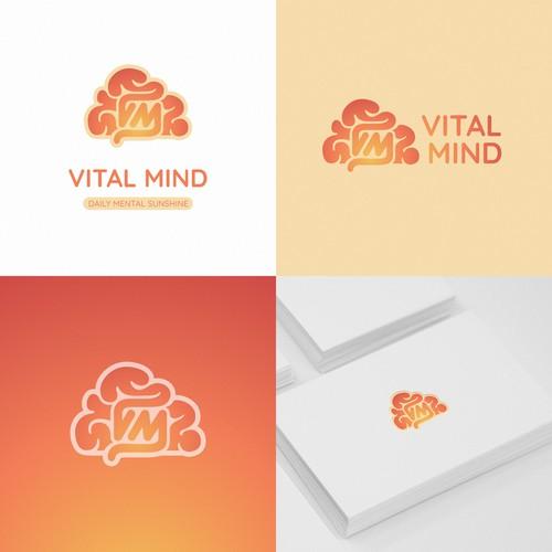 Vital Mind Logo Concept
