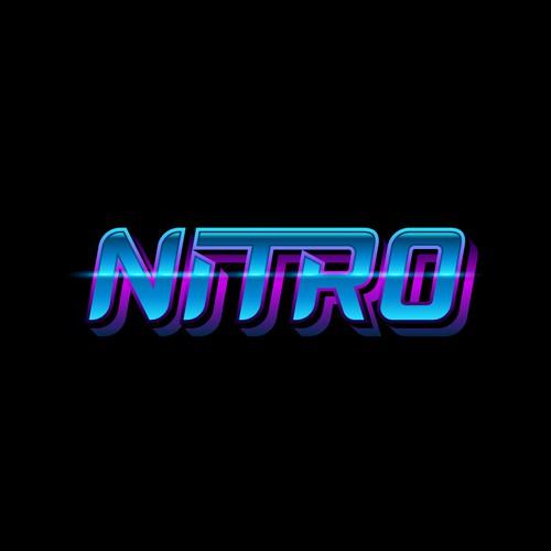Custom typography logo for a cybersport athlete.