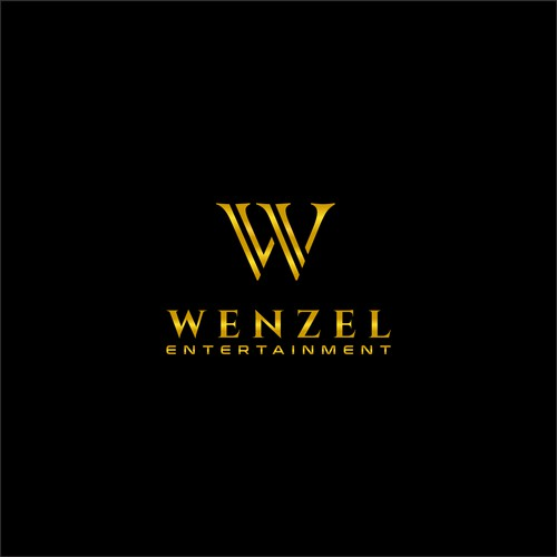 Initials, growth, luxury conept for WENZEL Logo