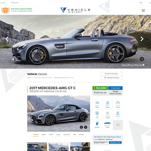 Vehicle Listing Landing Page - Make it Awesome!!