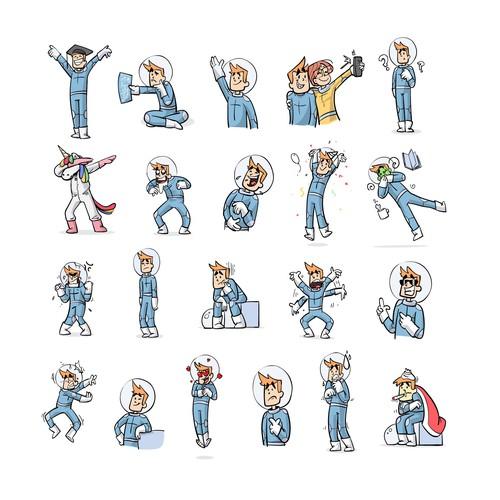 Leo Stickers
