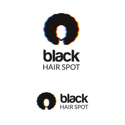 Brand needed for new online startup: Black Hair Spot