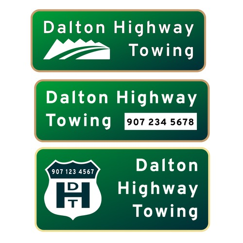 Dalton Highway Towing logo