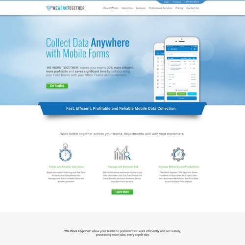 Brand New Product needs a Professional Corporate Website