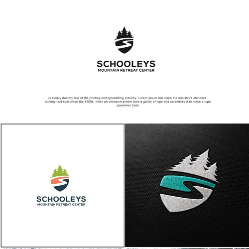 Logo design project for, SCHOOLEYS, Mountain Retreat Center