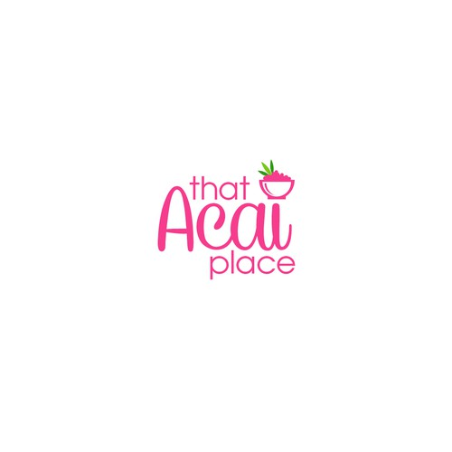 "Logo for ""Acai"" cafe..."