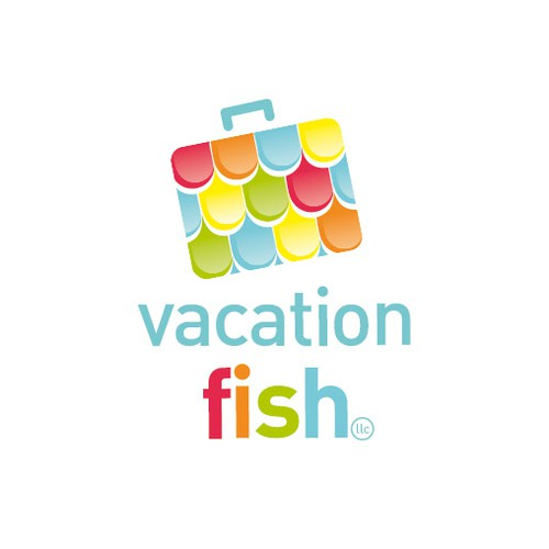logo for vacation fish llc