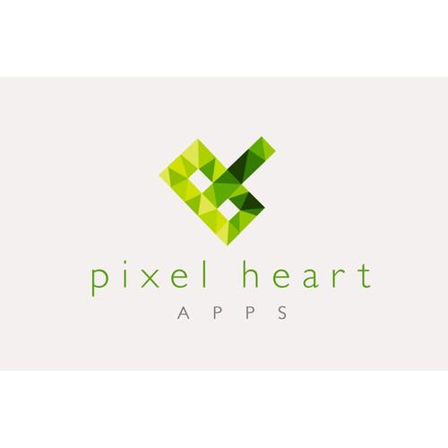 Pixel Heart Apps Logo