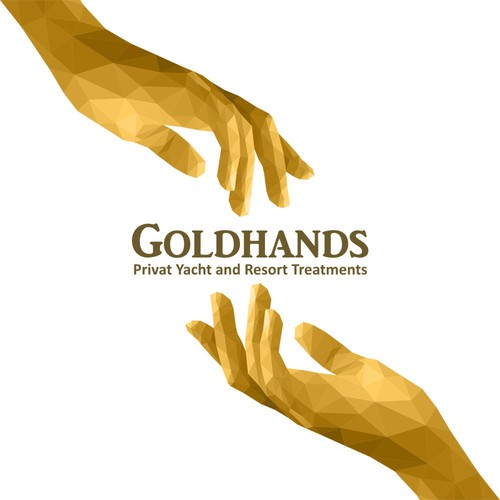Logo Design for GoldHands