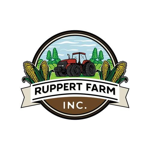 Ruppert Farm Logo Design