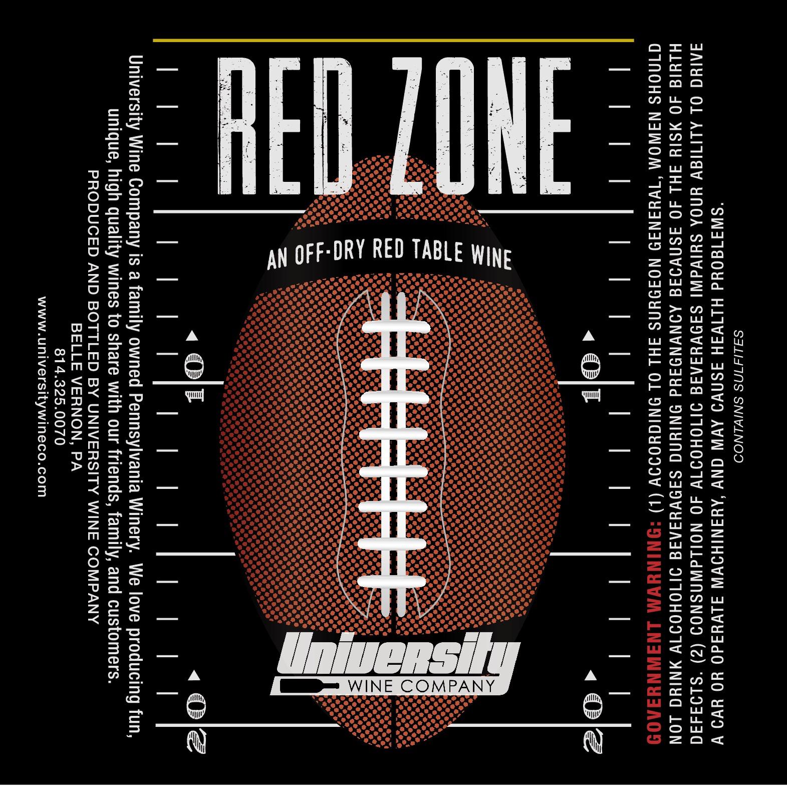 Create a fun & bold american football themed wine label