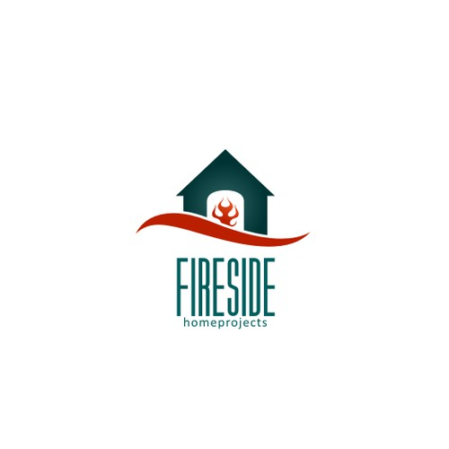 Create the next logo for Fireside Home Projects