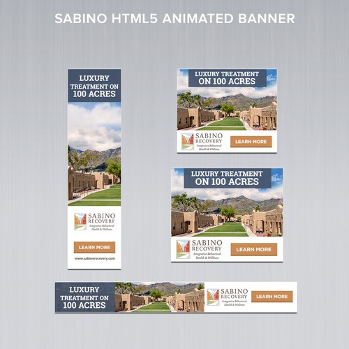 National Recovery HTML 5 Animated Display Ads