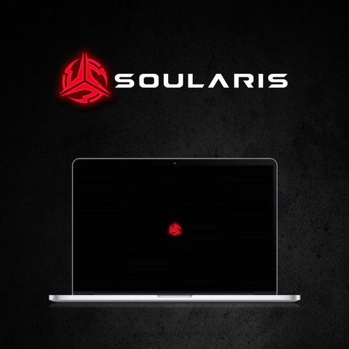 Soularis - slick logo for a new gaming brand