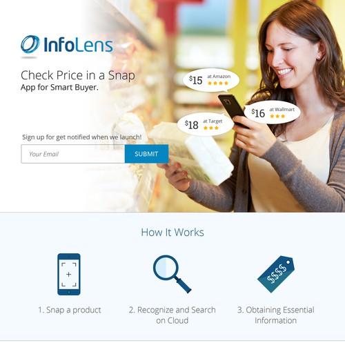 InfoLens Landing Page Contest