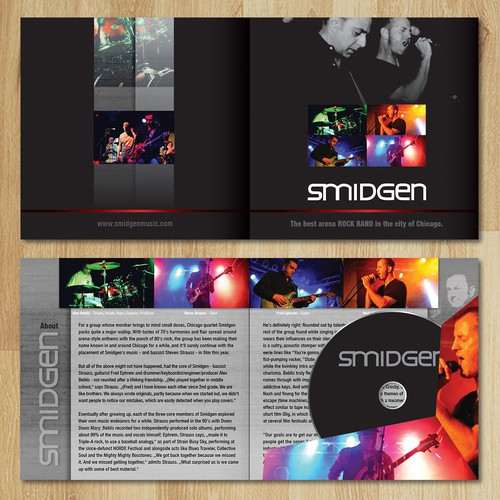 Smidgen- band press kit