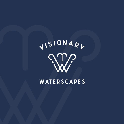 Logo concept for waterscapes