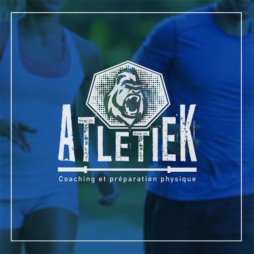 Proposition de logo pour un coach sportif
