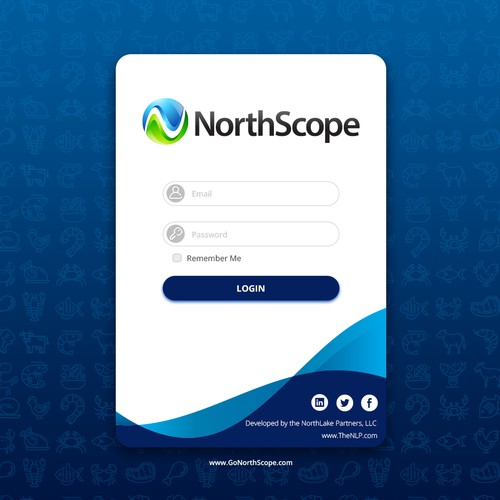NorthScope Software Login Page