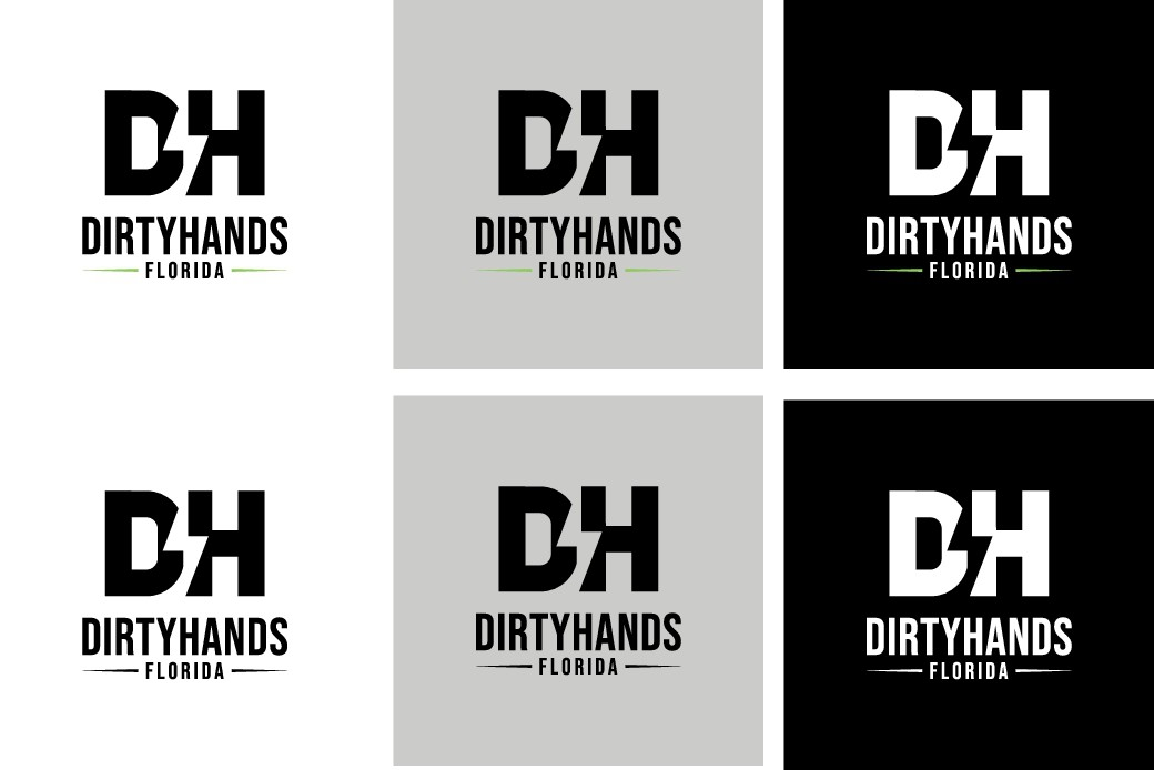 Sleek and sharp logo to represent homegrown business
