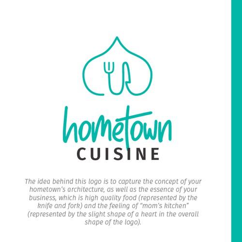 Logo concept - Hometown Cuisine
