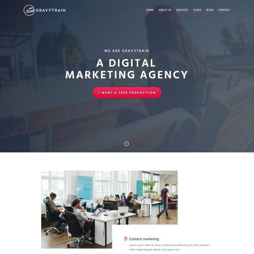 Design digital marketing bureau