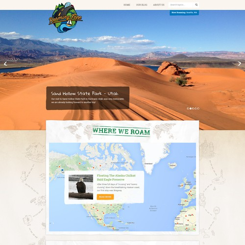 Roaming Free: Web Design