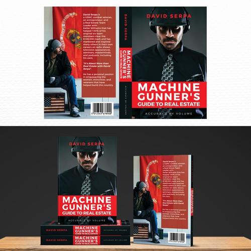 Bold Modern Cover Book for MACHINE GUNNER'S