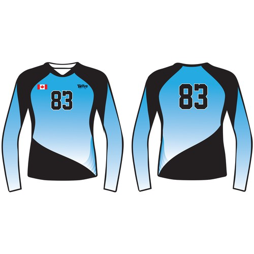 Volleyball Jersey Design