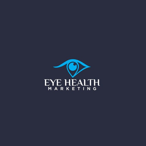 Modern Logo Design for Digital Marketing Consultants EyeCare Professionals