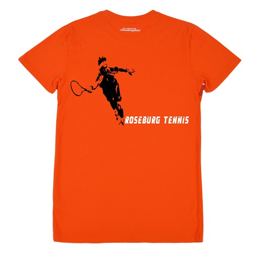 high school tennis team t-shirt/sweatshirt design