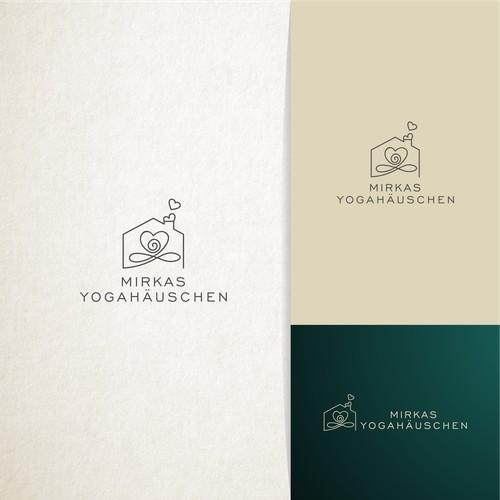 Logo design for Mirkas Yogahäuschen