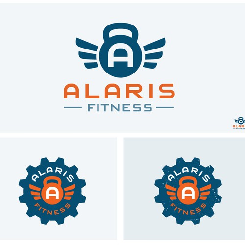 Seeking Strong/Uplifting Logo Design for Alaris Fitness