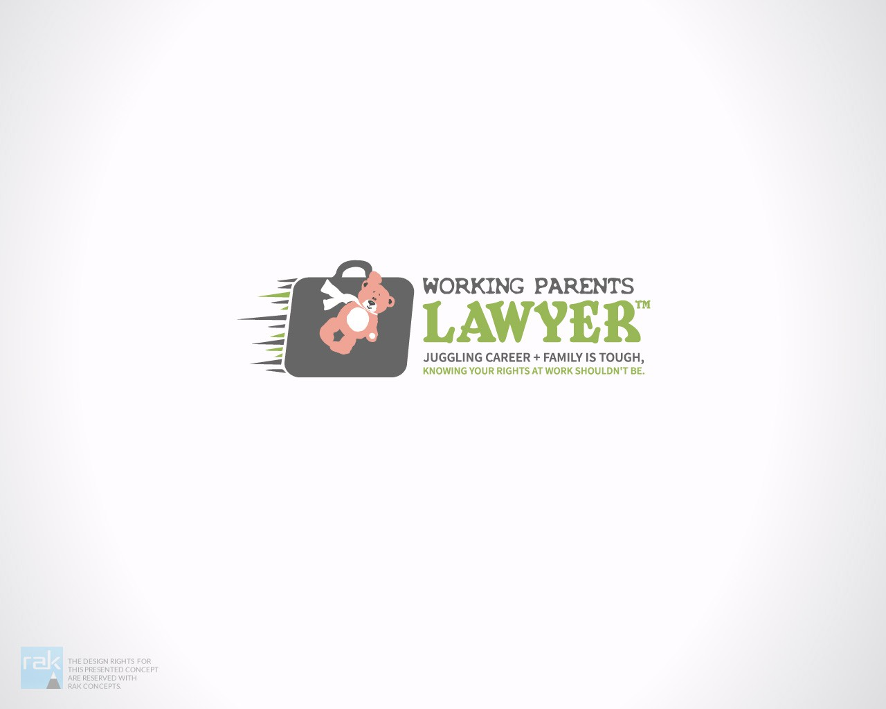 Design a logo for solo lawyer breaking out of the stiff lawyer box