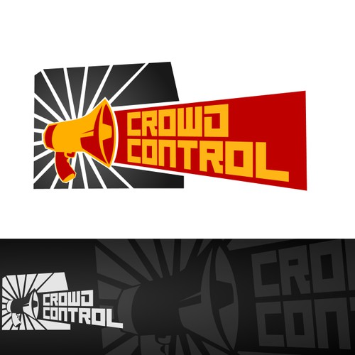 Crowd Control! - logo for marketing package/product