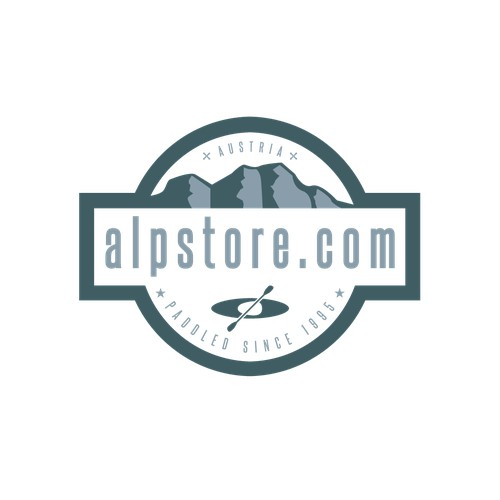 Logo Design Outdoorshop alpstore.com