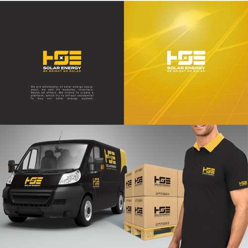 HSE SOLAR ENERGY LOGO AND SOCIAL MEDIA