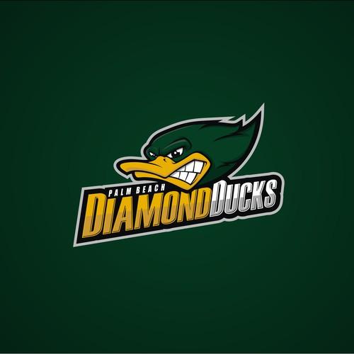 DiamondDucks Baseball needs a fierce, powerful logo