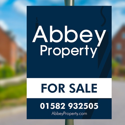 Abbey Property Signboard