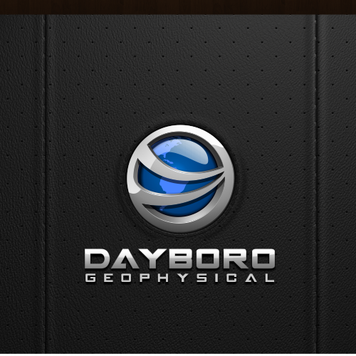 3D Modern logo of Dayboro Geophysical