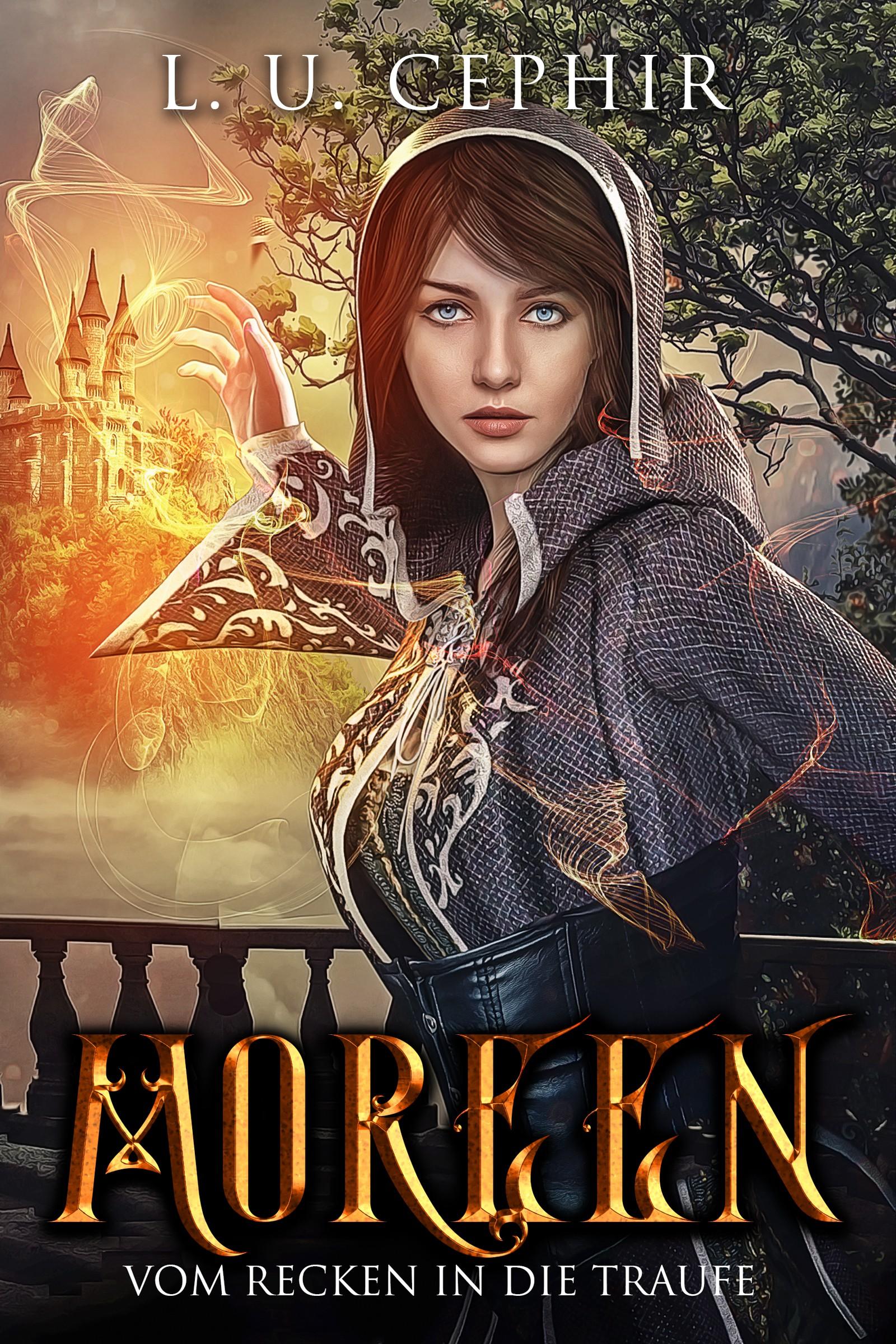YA fantasy romance needs an intriguing eBook cover