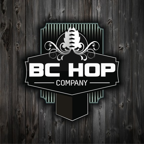 logo concept BC Hop Company